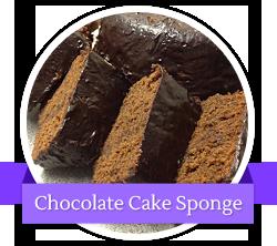 Chocolate Cake Sponge