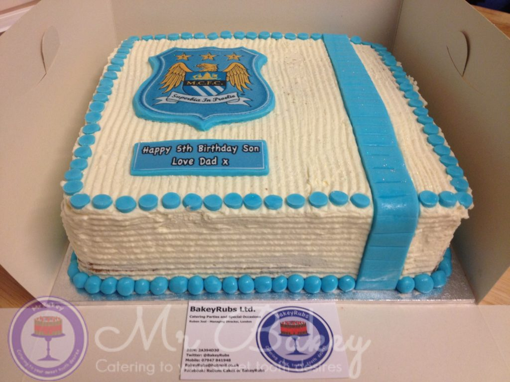 Manchester City Themed Cake II