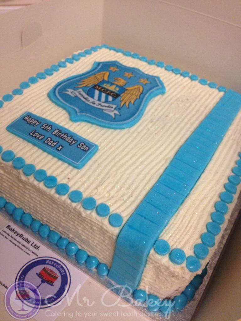 Manchester City Themed Cake Ii Mr Bakey