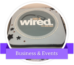 Business and events cakes