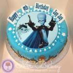 Megamind Cake