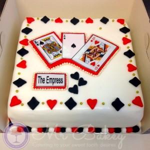 Cards Cake