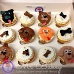 Dog Themed Cupcakes